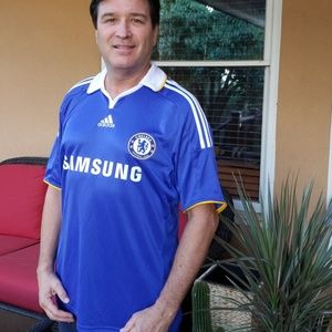 ADIDAS Chelsea Football Club Jersey Size Lg